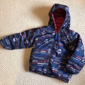 EUC Patagonia Down Sweater Hoody 4T